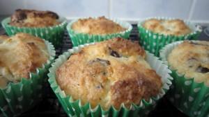 Grandma's coconut muffins