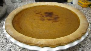 Gluten-free Pumpkin Pie!