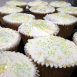 lemon-lime cupcake