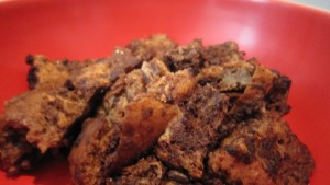 Recipe review: Ginger Lemon Girl's slow cooker chocolate bread pudding