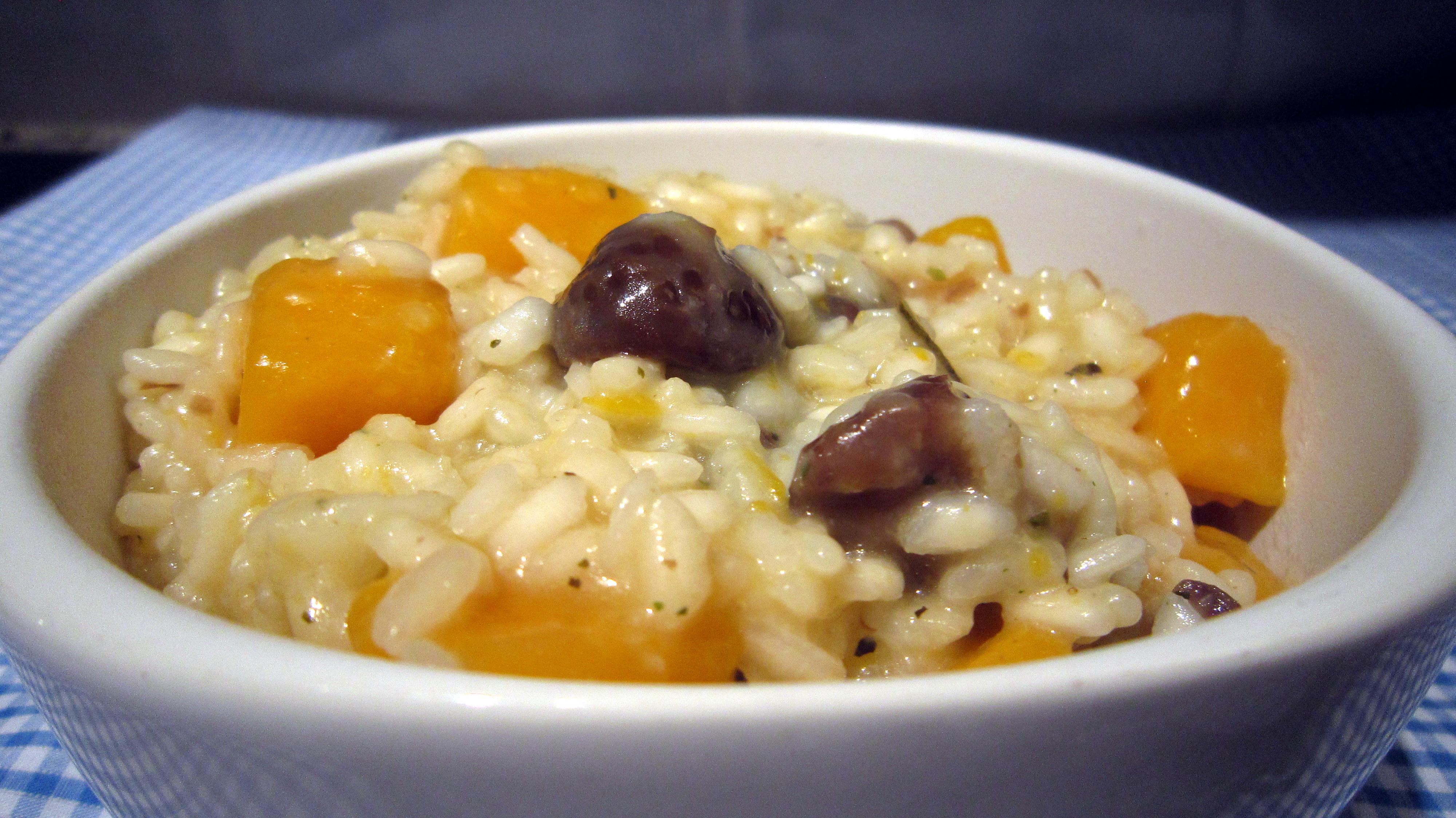Chestnut Risotto With Butternut Squash Recipes — Dishmaps