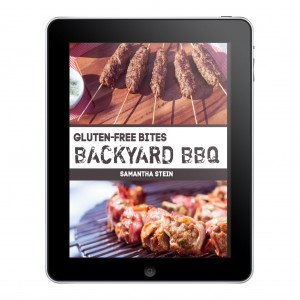Gluten-free bites: Backyard BBQ by Samantha Stein (The Happy Coeliac)