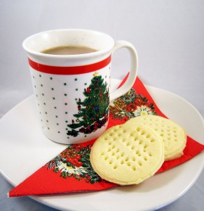Gluten-free shortbread and just 14 days to Christmas!