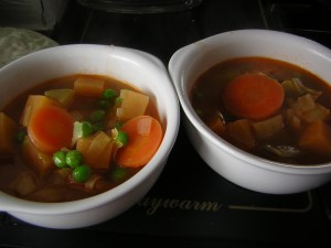 Hearty Vegetable Soup (by Louise and Sous Chef J)