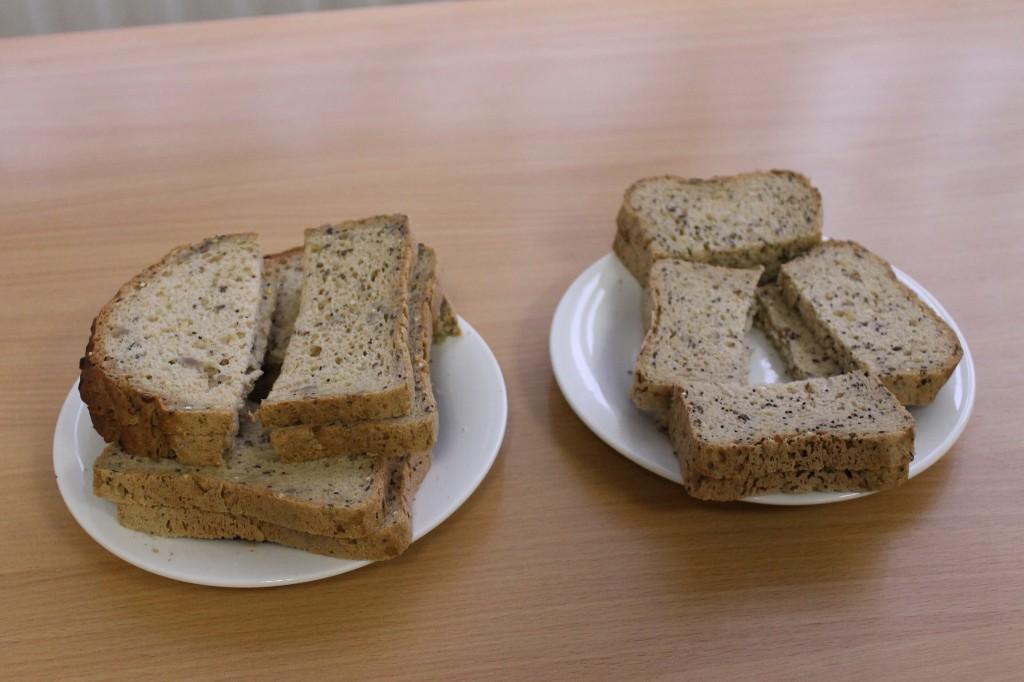 bread taste testing