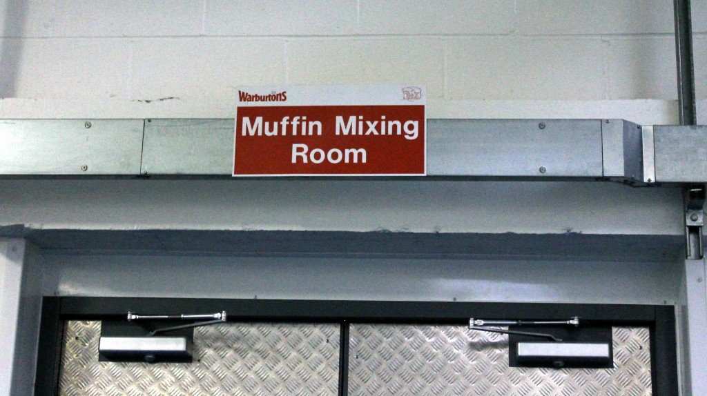 Muffin Mixing Room