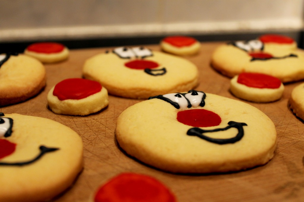 Red Nose Cookies