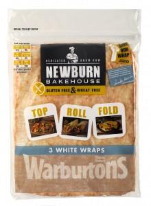 warburton's newburn bakehouse gluten-free wraps
