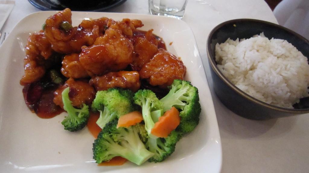 gluten free crispy general tso's chicken