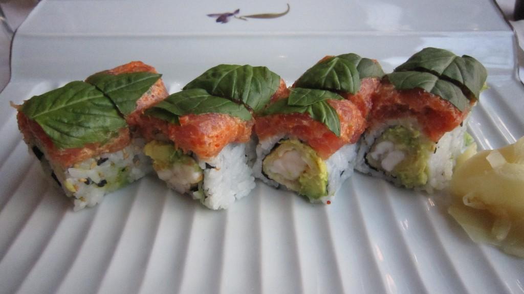 gluten free sushi tempura