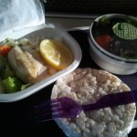 gluten-free lunch on virgin atlantic
