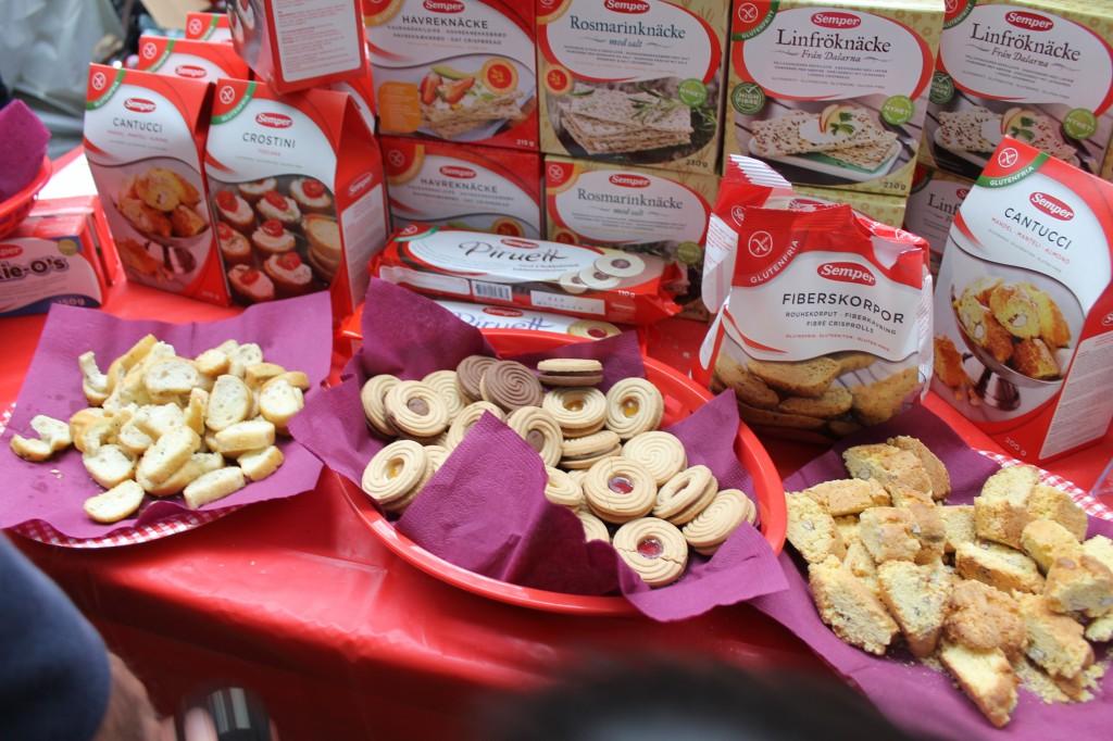gluten-free samples