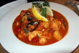 Bouillabaisse at Yanwath Gate Inn