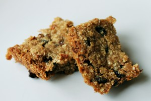 Beautiful oat free flapjacks using Perk!er porridge