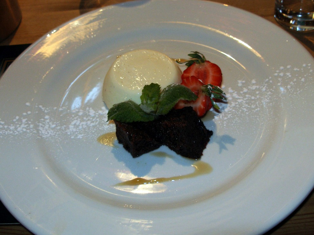 Panna Cotta at Yanwath Gate Inn