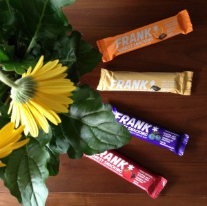 Product review: Frank Bars, guest post by Gluten Free B + GIVEAWAY!