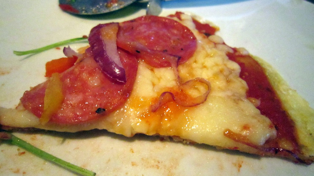Gluten-free pizza slice Woodstone