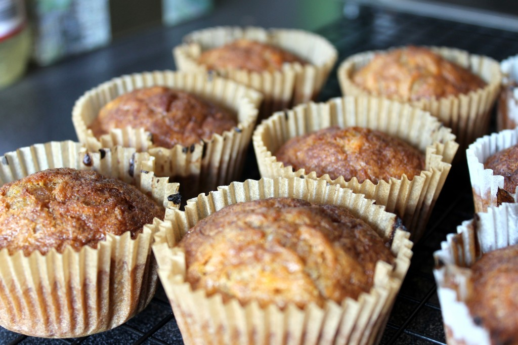 incognito cakes carrot muffins