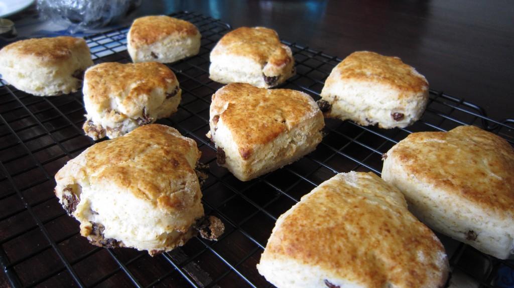 glebe farm gluten free scones