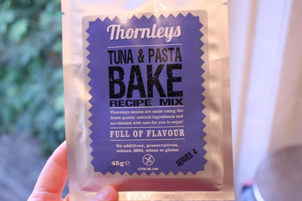 thornleys gluten free tuna pasta bake