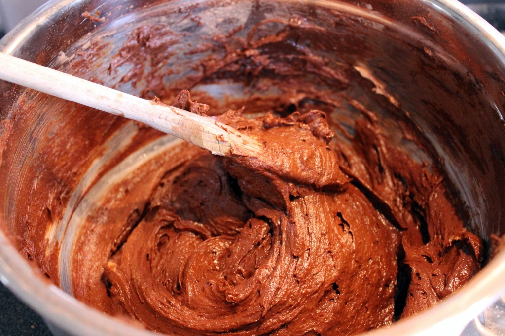Helen's Gluten-free Chocolate Cupcake Mix - batter
