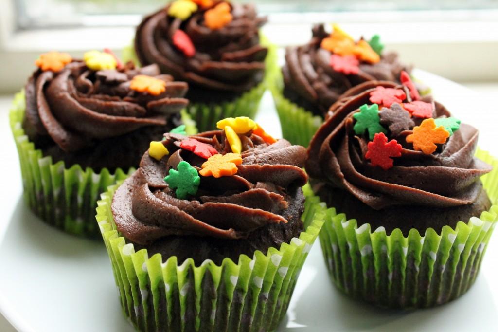 Helen's gluten-free chocolate cupcakes