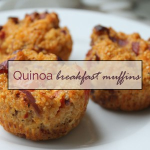 Quinoa breakfast muffins (gluten- and dairy-free!)