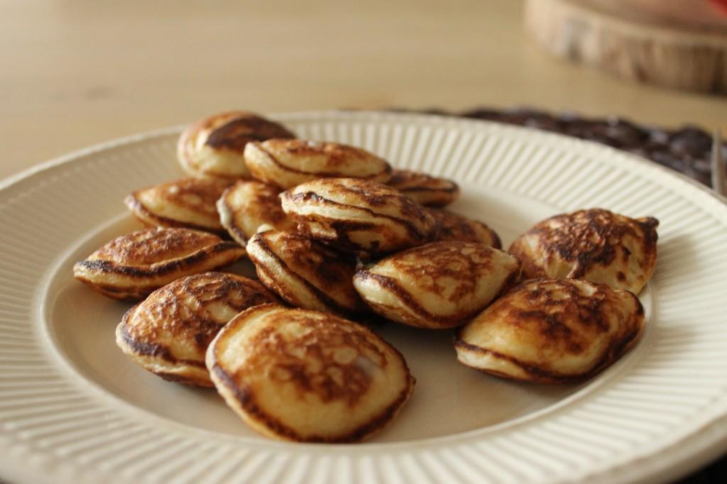 Naked gluten-free poffertjes