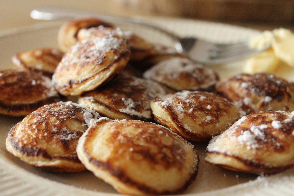 Gluten-free poffertjes made with Lisa's choice mix. Review by The Happy Coeliac