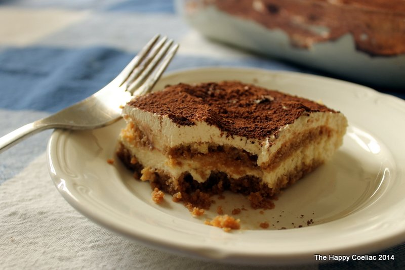 Yes - it's gluten-free tiramisu! Yum!