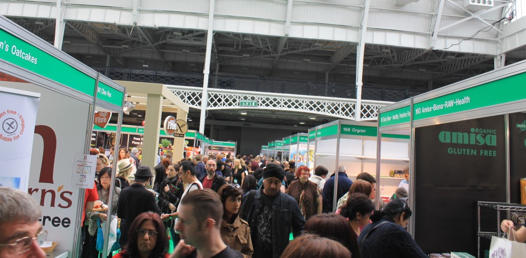Crowds at the Allergy Show