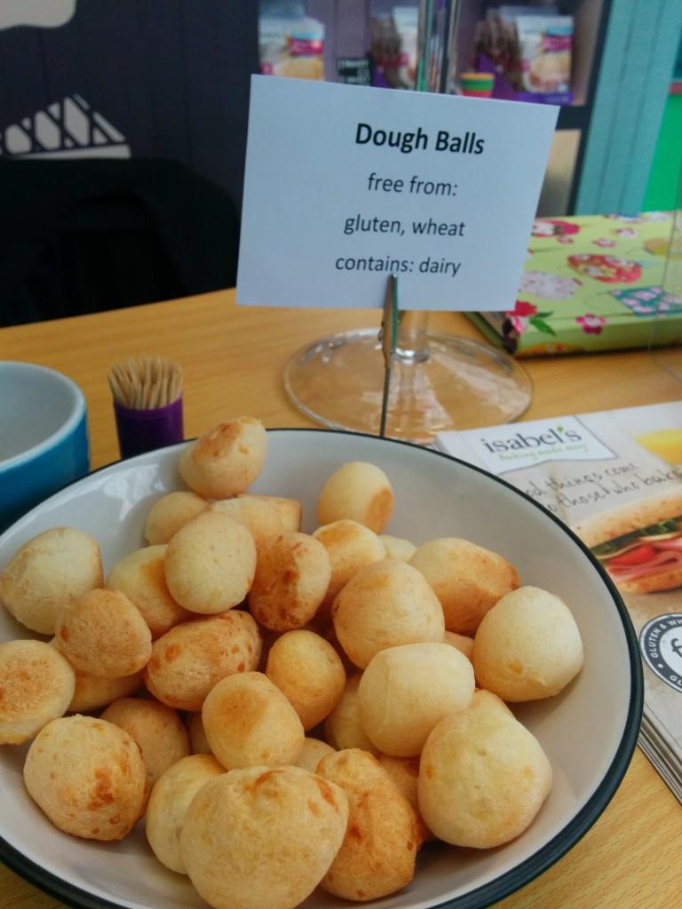 Isabel's gluten-free dough balls