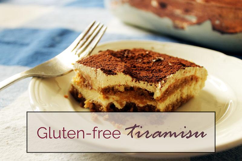 gluten-free tiramisu