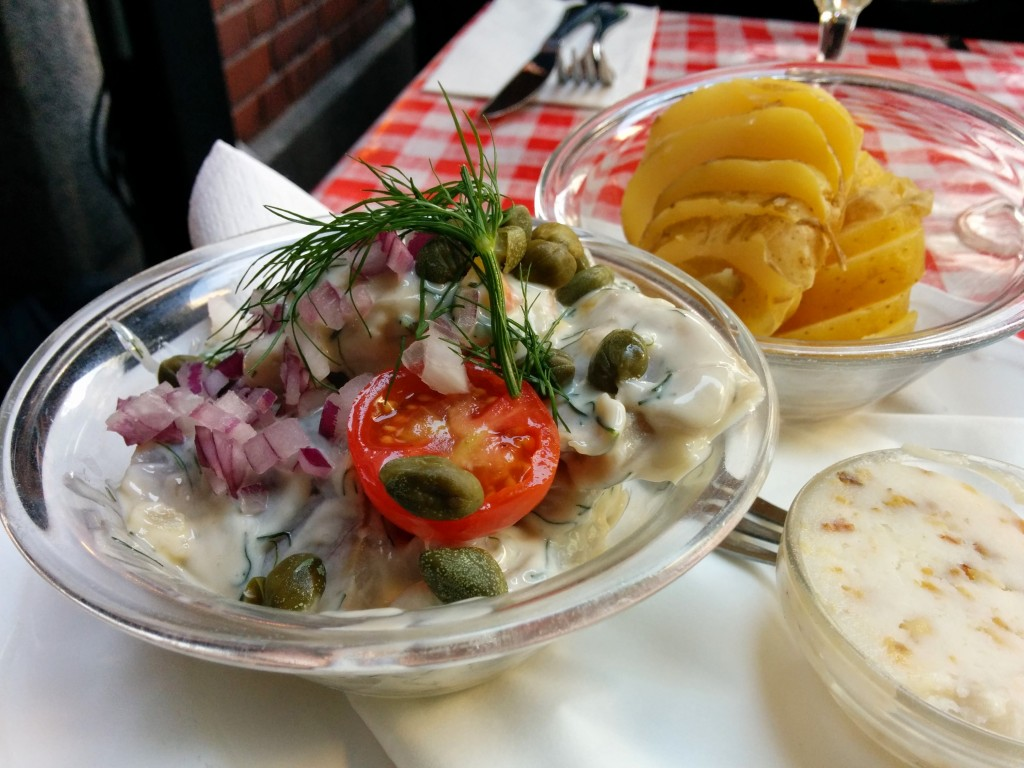 Herring at Frk. Barners Kælder, Copenhagen