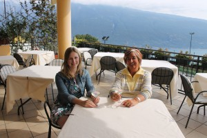 The Happy Coeliac meets Gilli of Gilli's Holidays in Tignale, Lake Garda