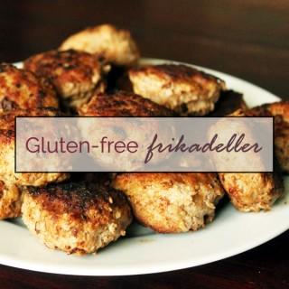 Gluten-free frikadeller - Danish pork meatballs