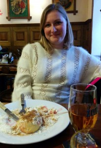 Defeated by a great gluten-free meal at Restaurant U Karla, Prague