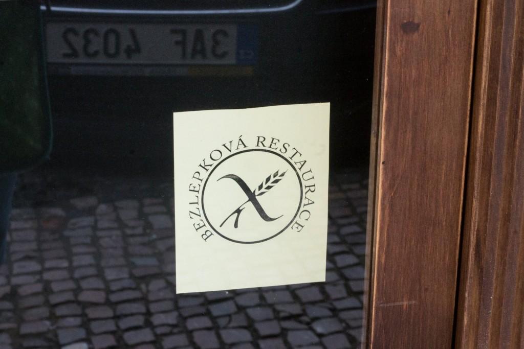 Crossed grain symbol at Alriso, Prague