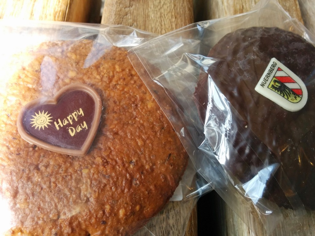 Nuremberger lebkuchen - naturally gluten free