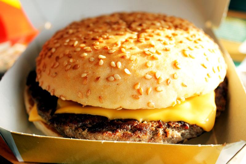 McDonald's Gluten-free Big Mac