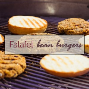 Falafel Bean Burgers