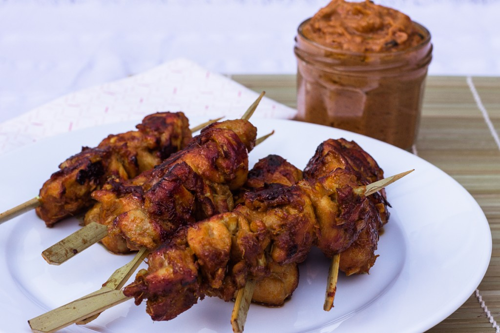 Gluten-free Singapore Satay Chicken