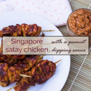 Singapore Satay Chicken